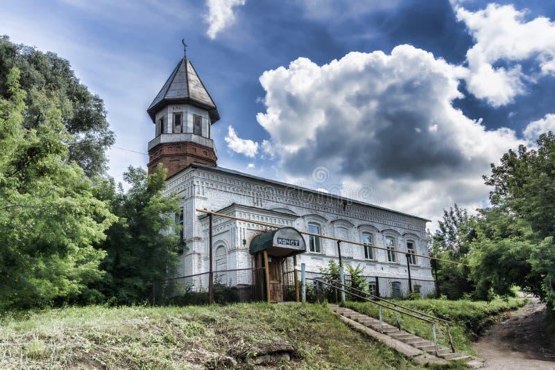 Rússia A república Bashkir A cidade de Birsk Hoje o mosqu fotos de stock royalty free