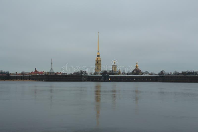 Rússia, St Petersburg, Peter e Paul Fortress imagens de stock