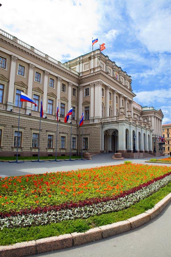 Rússia. St. - Petersburgo. Um bui do conjunto legislativo fotos de stock royalty free