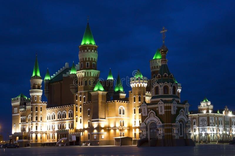 Rússia, Yoshkar-Ola, turismo em Rússia imagem de stock