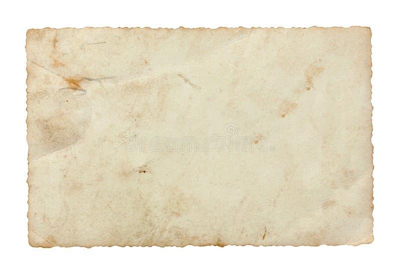 Download Rückseite Der Alten Postkarte Stockbild - Bild von post, struktur: 26367721