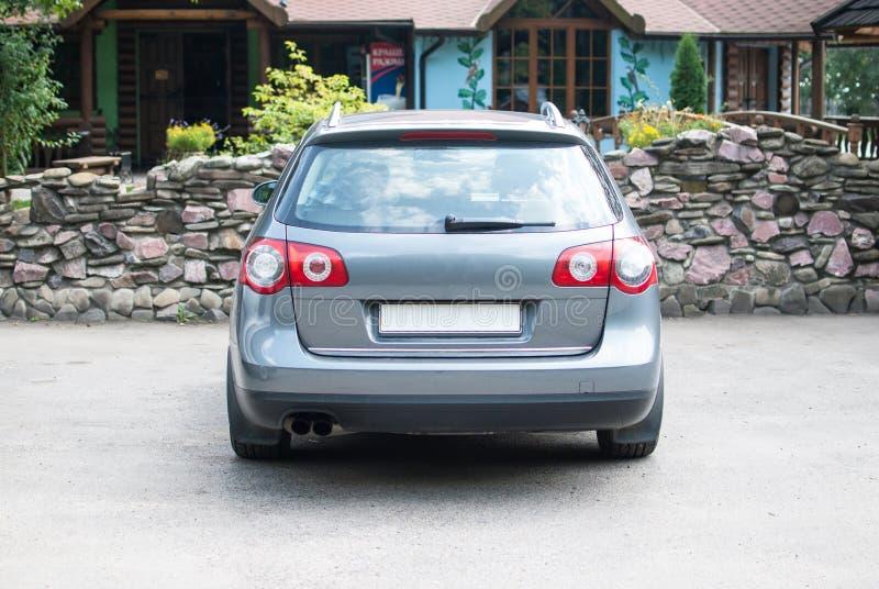 Rückseite des Autos stockbilder