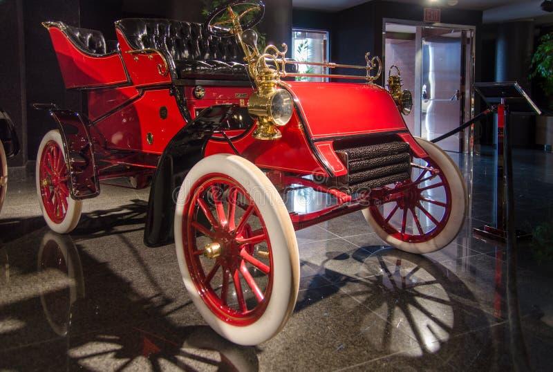 Rückseiten-Eintritt Tonneau 1903 Ford Models A dargestellt in Blackhawk-Museum Ca USA stockfotografie