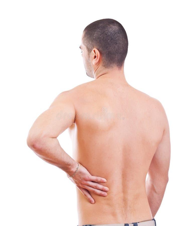 Rückseitige Schmerz stockfotos