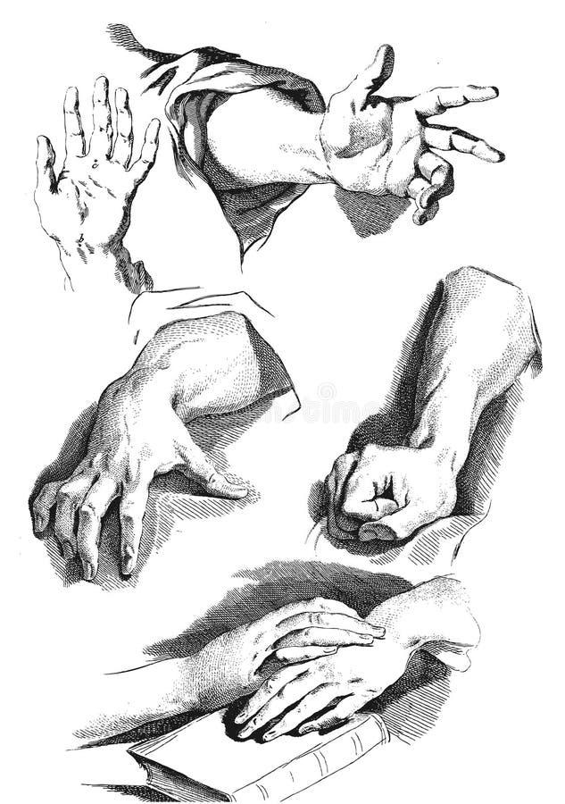 ręce ilustracji