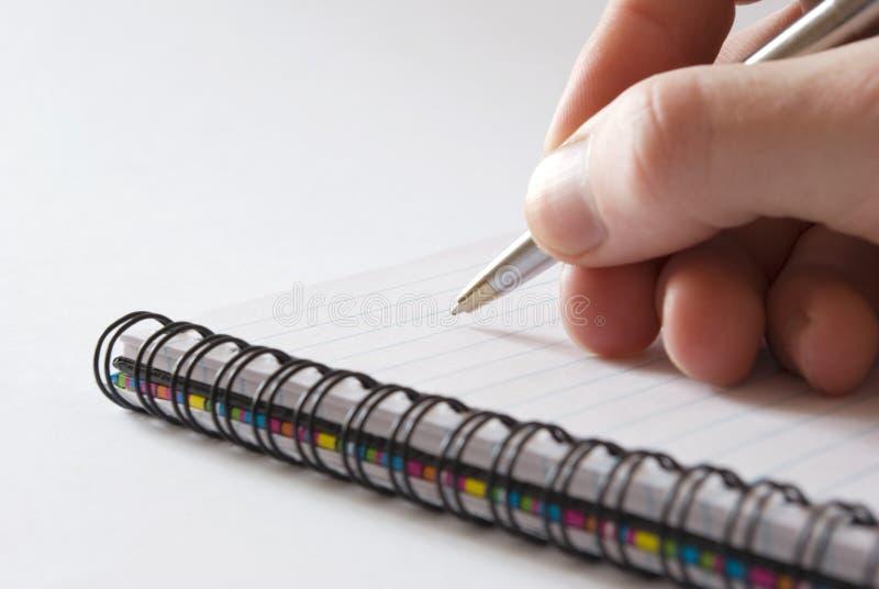 ręce długopis obraz royalty free