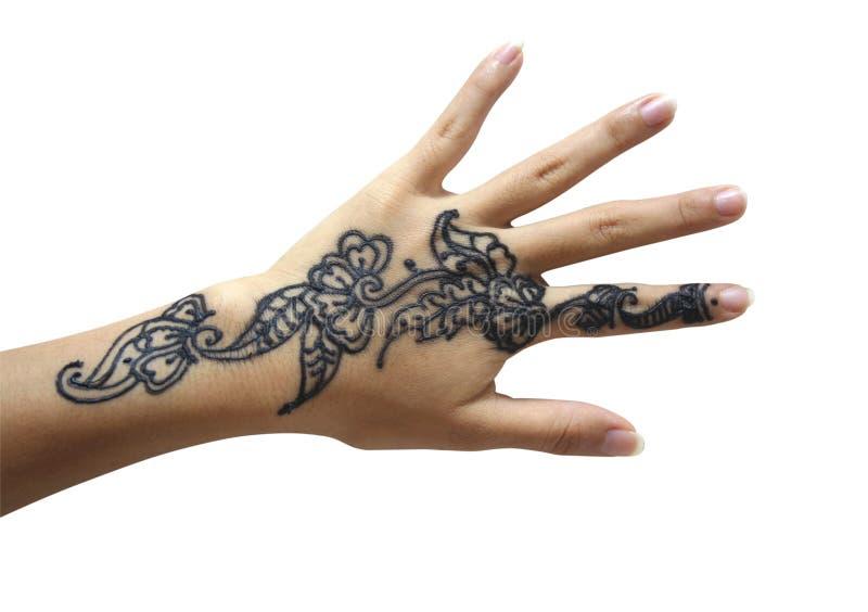 ręce henny zdjęcia stock