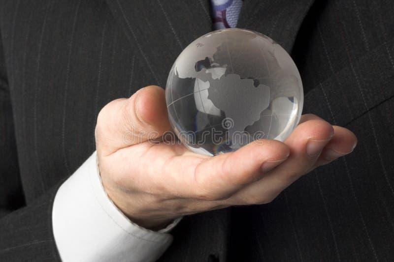 ręce ib świat obrazy stock