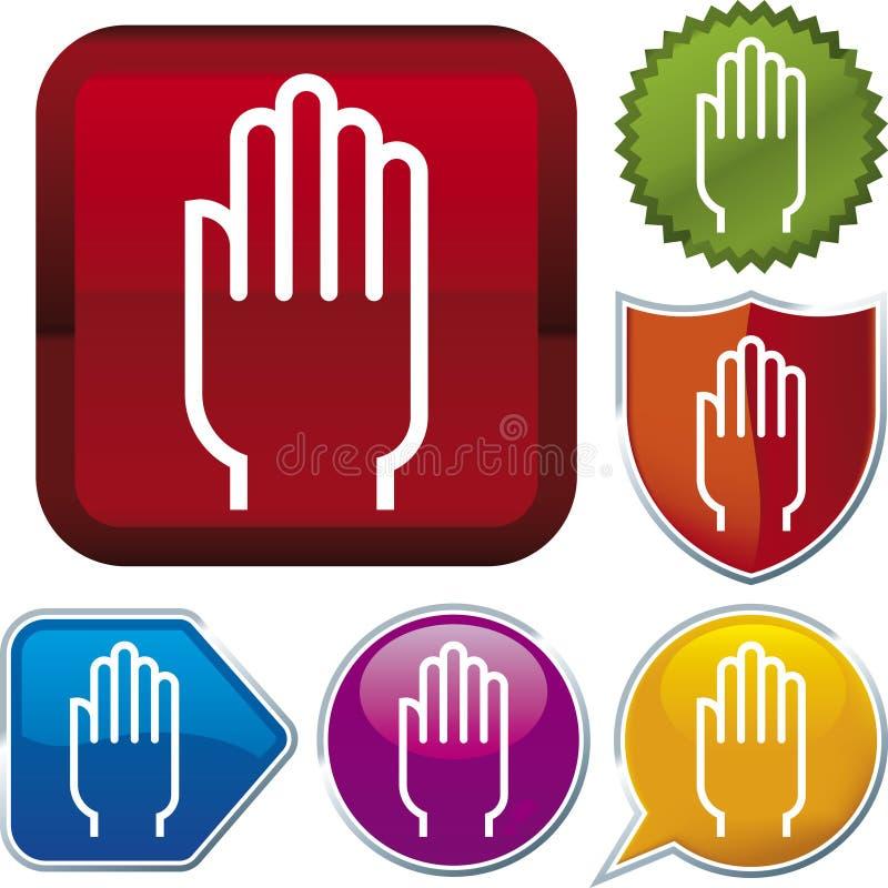 ręce ikony serii ilustracja wektor