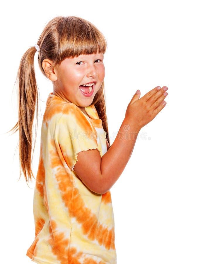 ręce klaskać dziewczyn fotografia royalty free