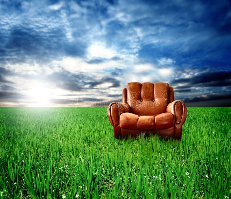 ręce krzesło fotografia stock