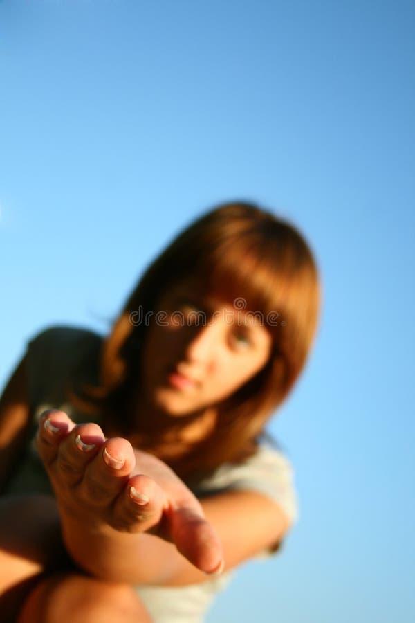 ręce mi zdjęcie stock