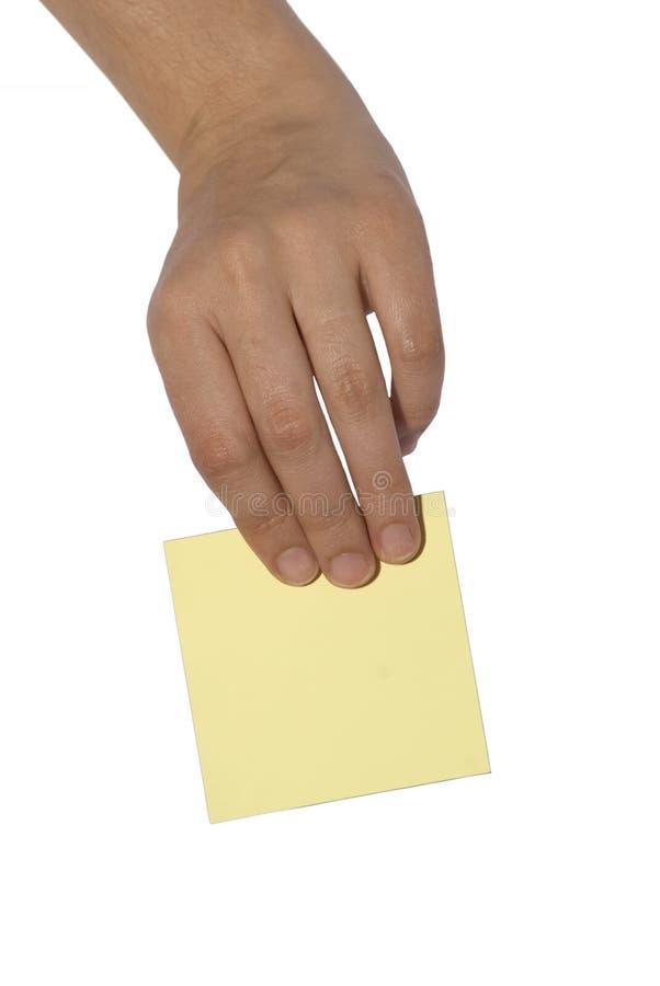ręce pocztę zdjęcie stock