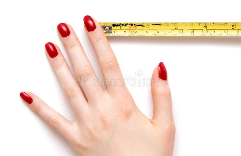 ręce władcy kobieta obrazy stock