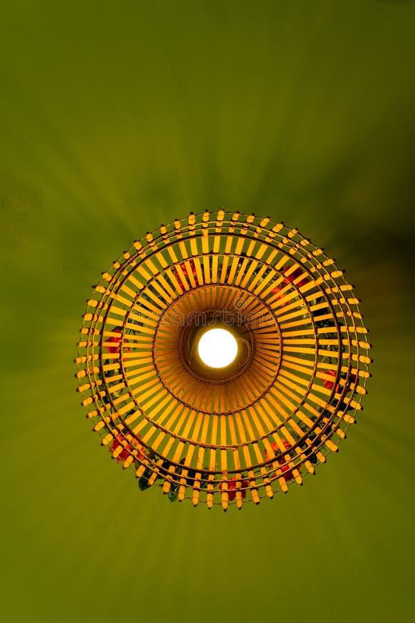 Ręcznie robiony breloczek lampa obraz stock
