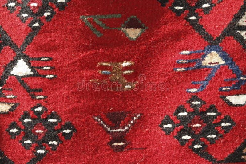 Ręcznie robiony dywanik obrazy stock