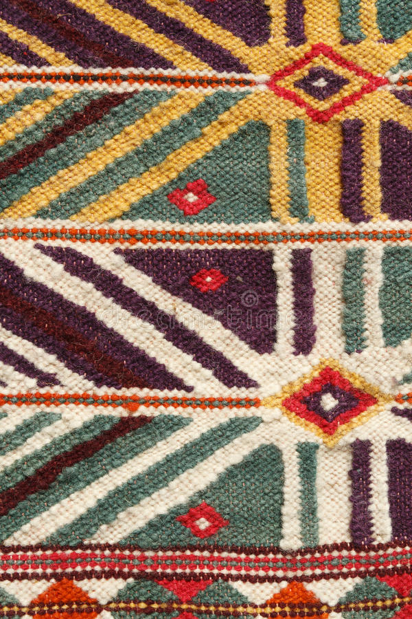 Ręcznie robiony dywanik fotografia royalty free