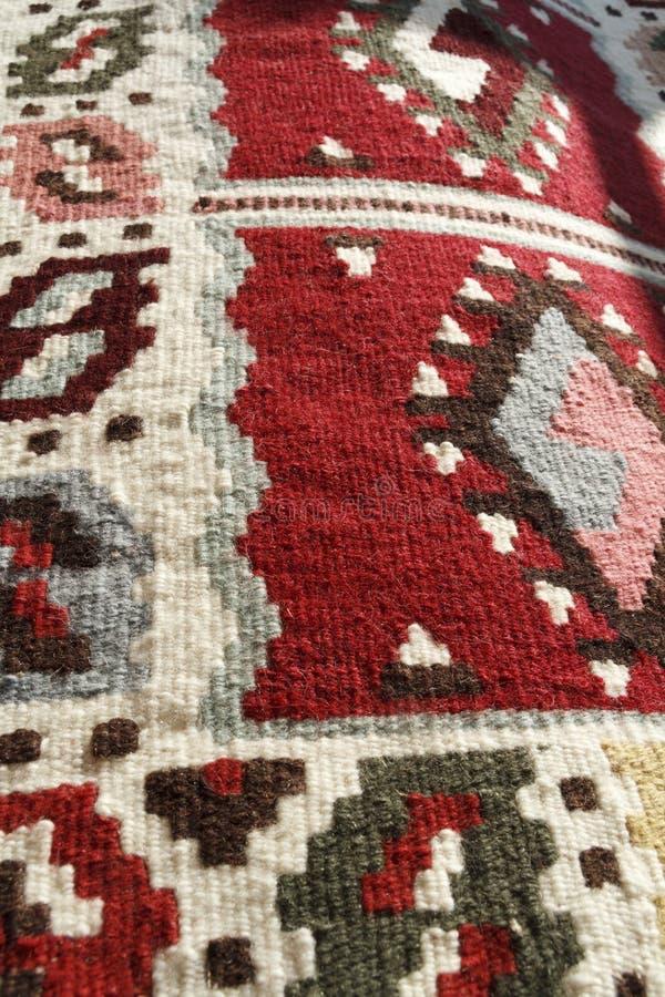 Ręcznie robiony dywanik fotografia stock