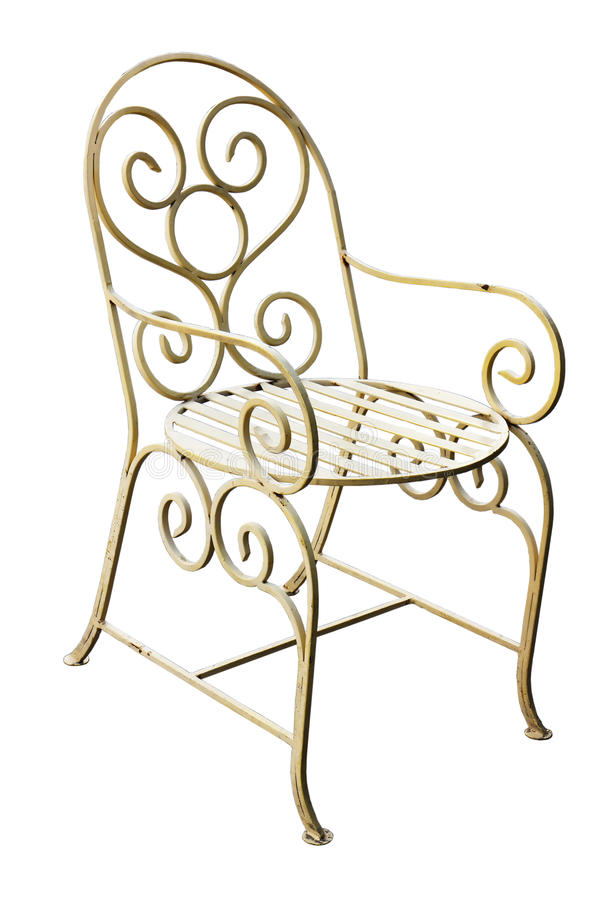 Ręcznie robiony krzesło fotografia royalty free