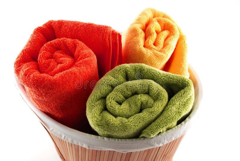 ręczników kąpielowych obraz royalty free