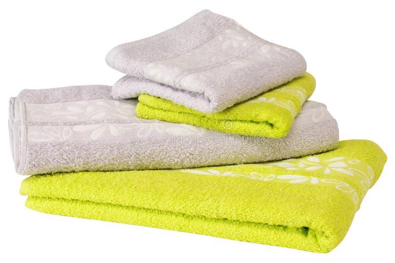Ręcznik. Odosobniony fotografia royalty free