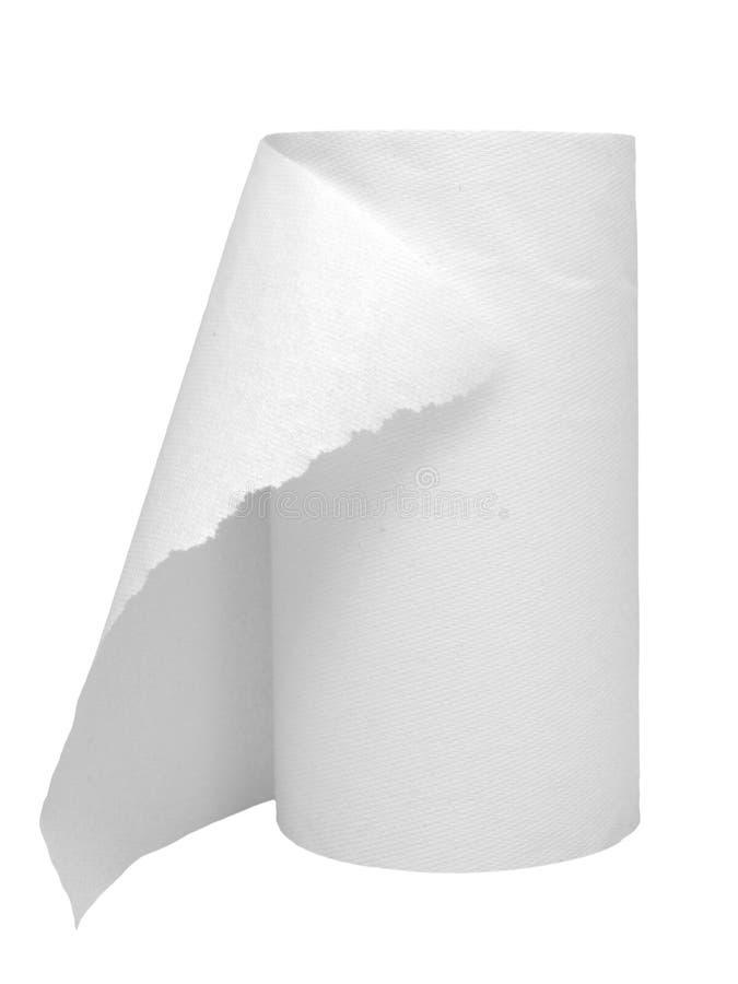 Ręcznika papieru rolka zdjęcie stock