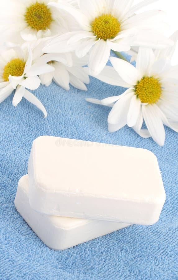 ręczniki mydła zdjęcia royalty free