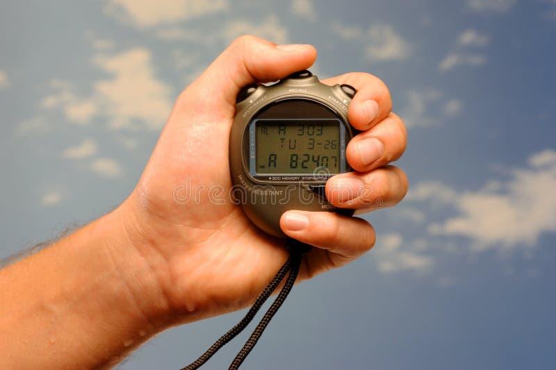 ręczny stopwatch obraz stock