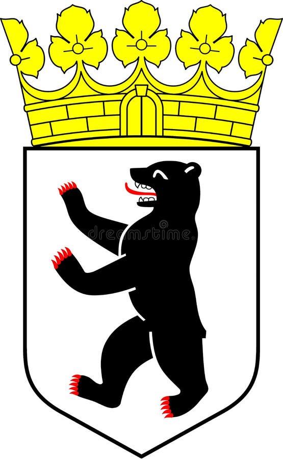 ręk Berlin żakiet royalty ilustracja