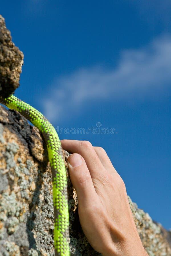 ręk rockclimber arkana s obraz stock