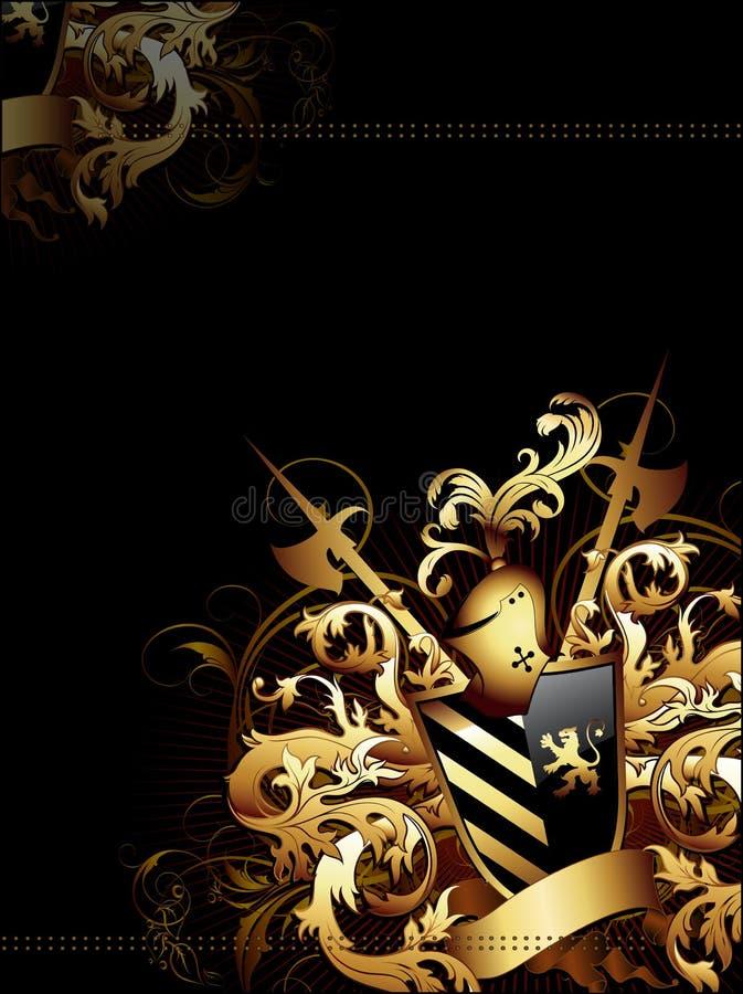 ręk tła żakiet royalty ilustracja