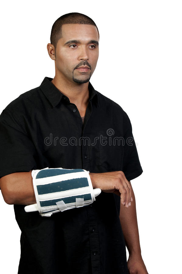 ręka łamająca zdjęcie royalty free