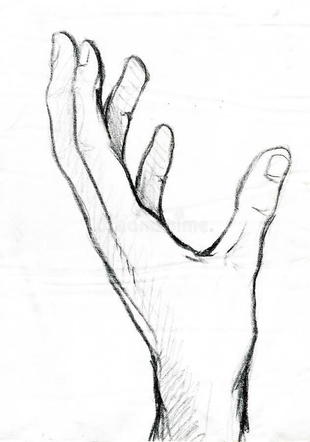Ręka ilustracja wektor