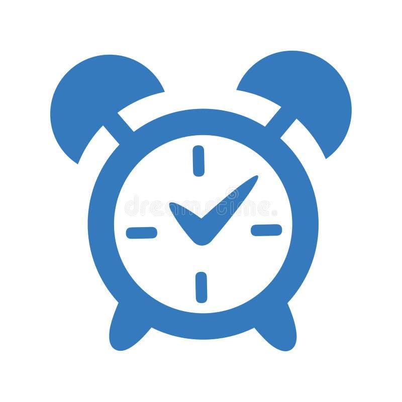 Ręka Bell, alarm ikona/ royalty ilustracja