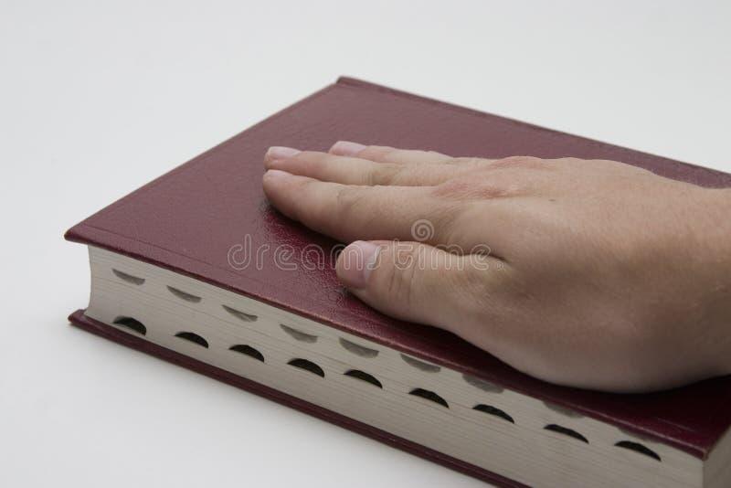 ręka biblii obrazy royalty free