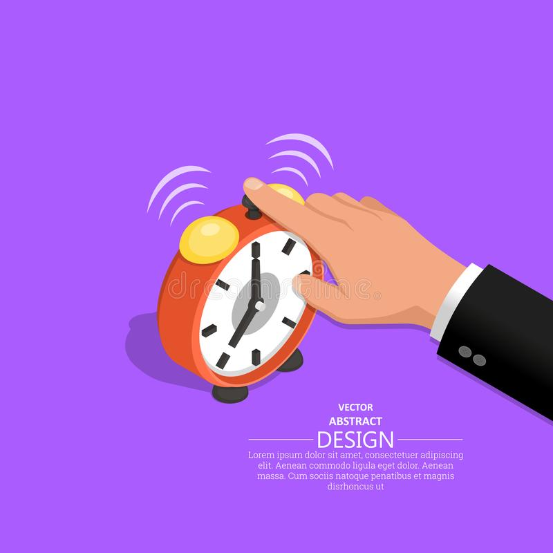 Ręka biznesmen ilustracji