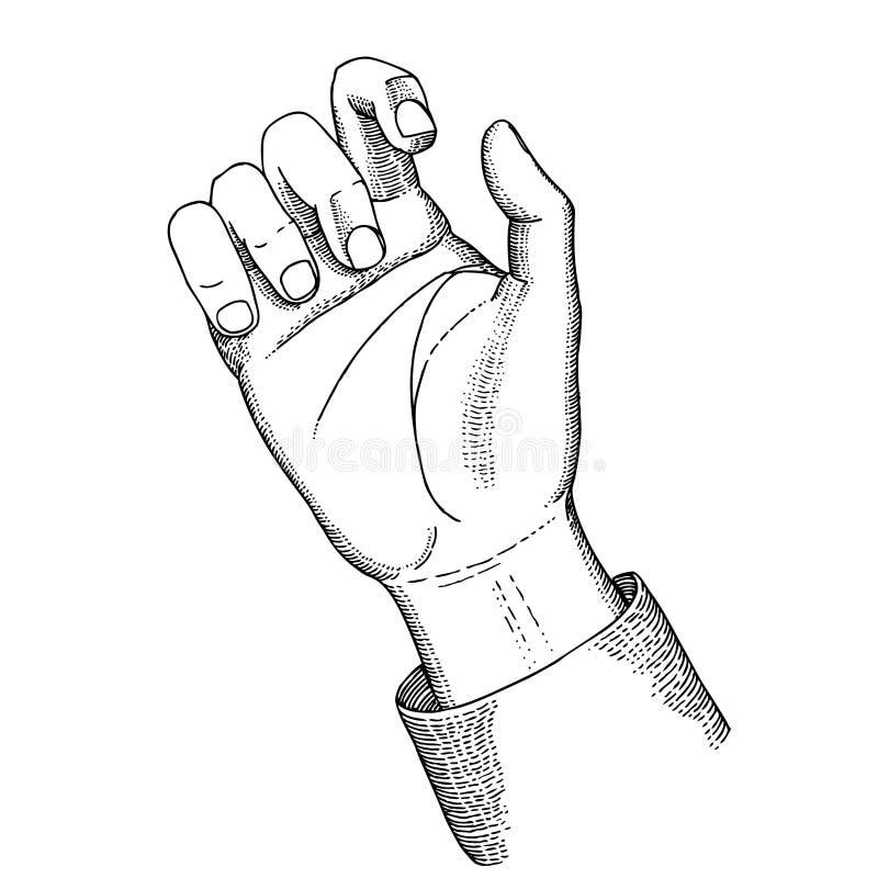 ręka chwyty obraz stock