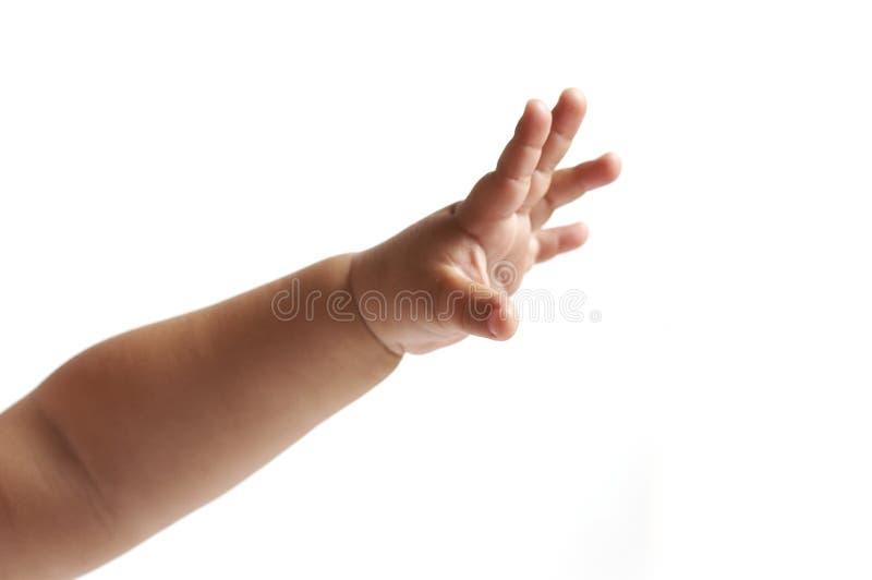 ręka dziecka obrazy stock