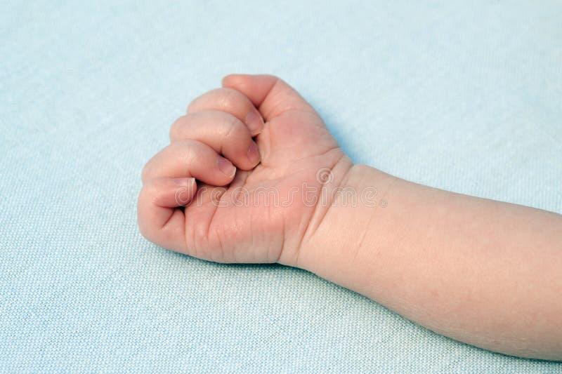 Ręka dziecko obraz stock