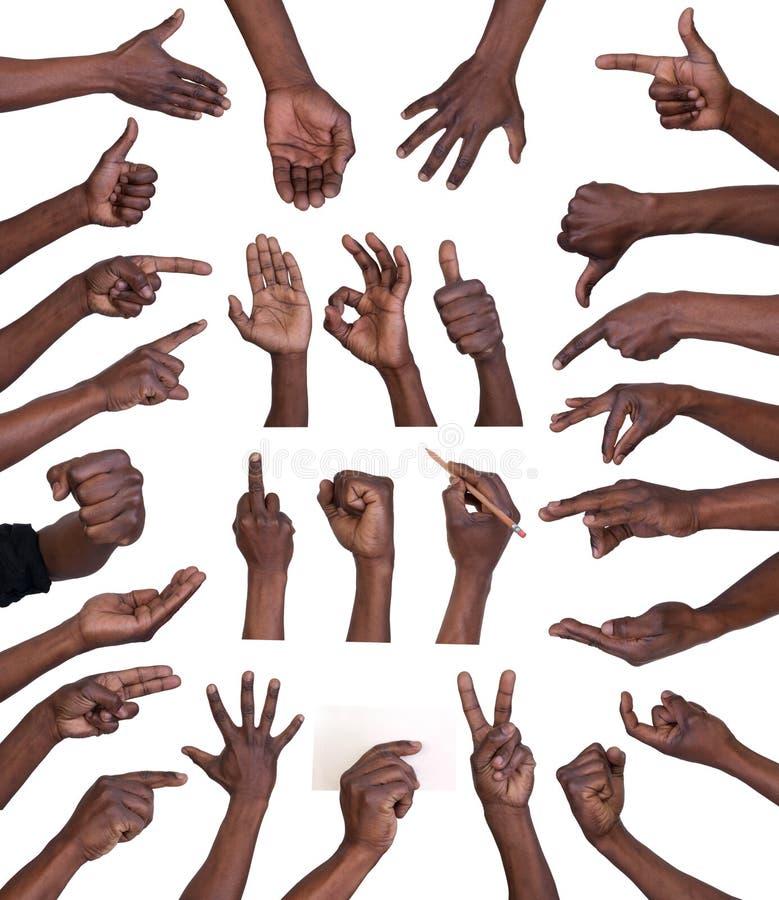 Ręka gesty inkasowi zdjęcie royalty free