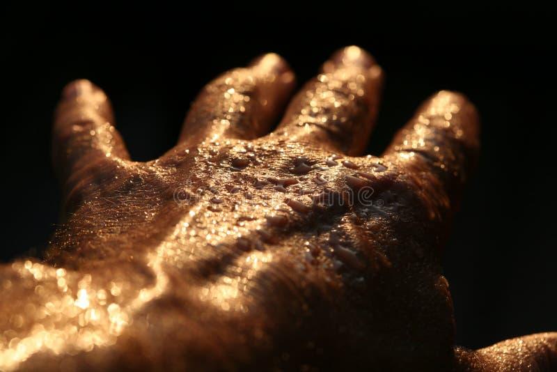 ręka horror zdjęcie stock