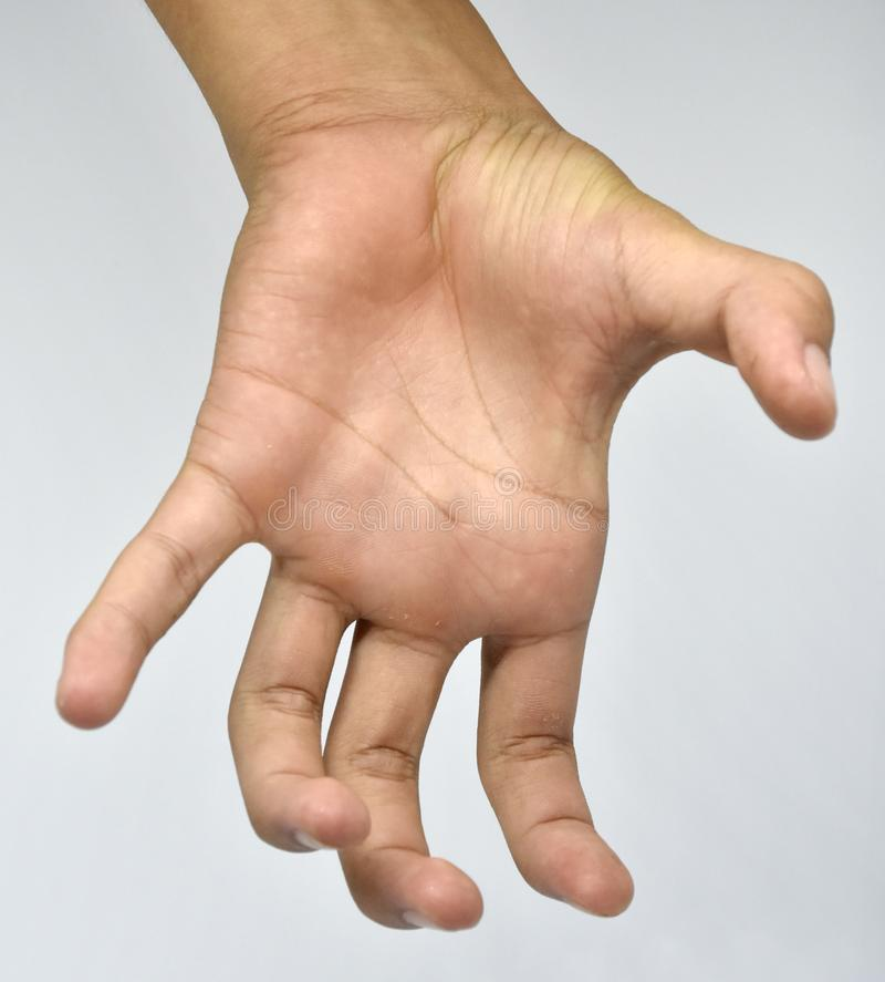 Ręka i style palce obrazy royalty free