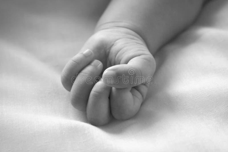 ręka jest dziecko zdjęcia stock