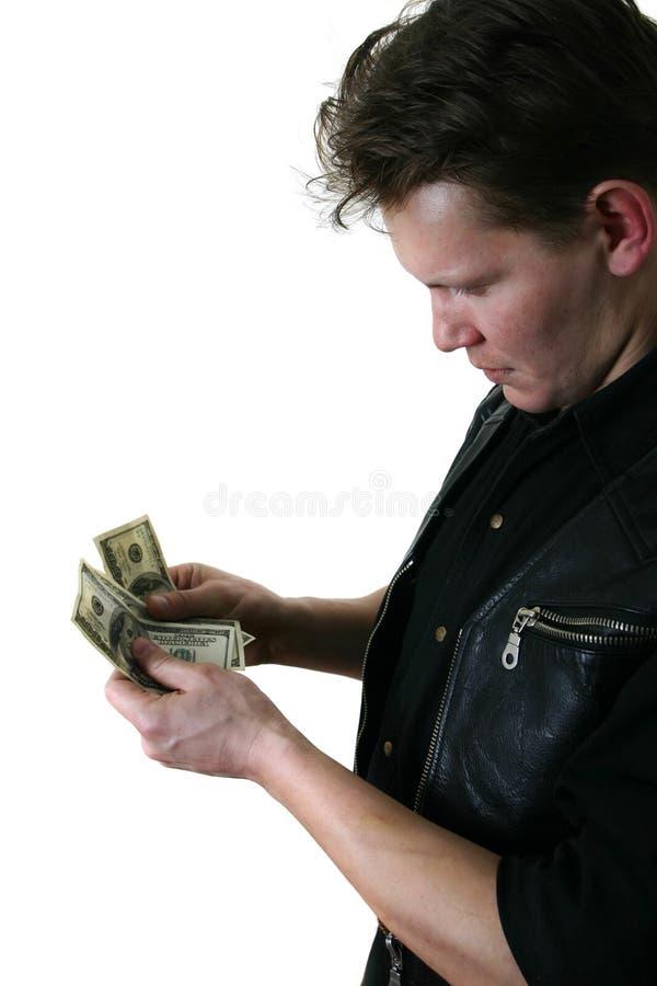 Ręka Mężczyzny Jest Dolarów Obraz Stock