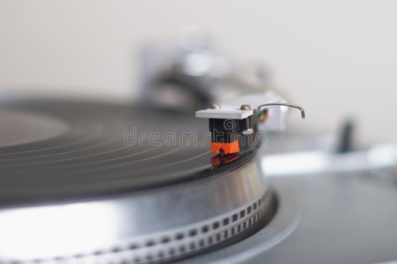 ręka nabojowy dysk się gramofon ton zdjęcie royalty free