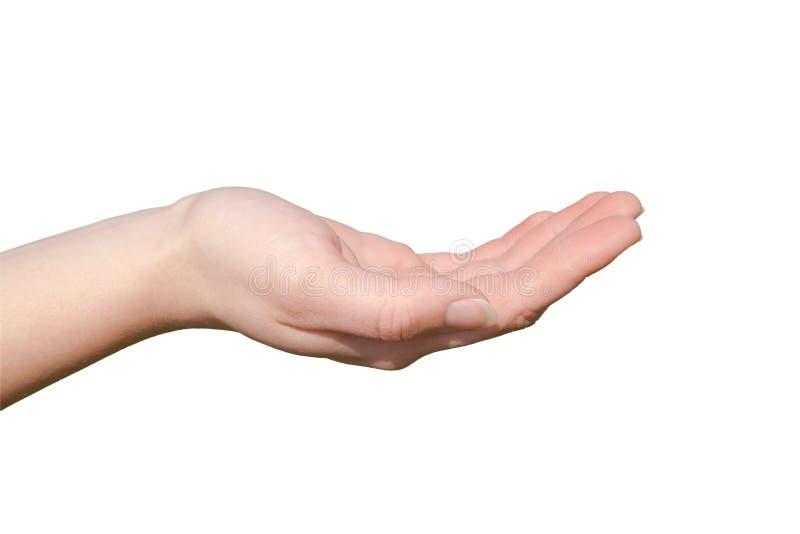ręka otwarta obraz stock