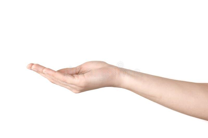 ręka otwarta