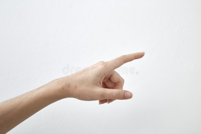 Ręka otwarta i gotowa pomagać lub otrzymywać zdjęcia stock