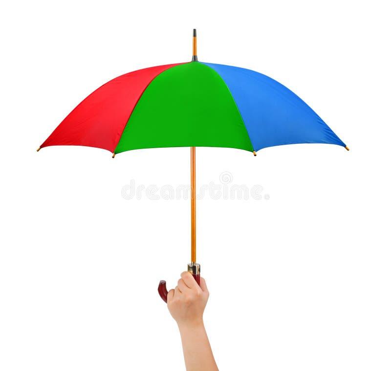 ręka parasol zdjęcie royalty free