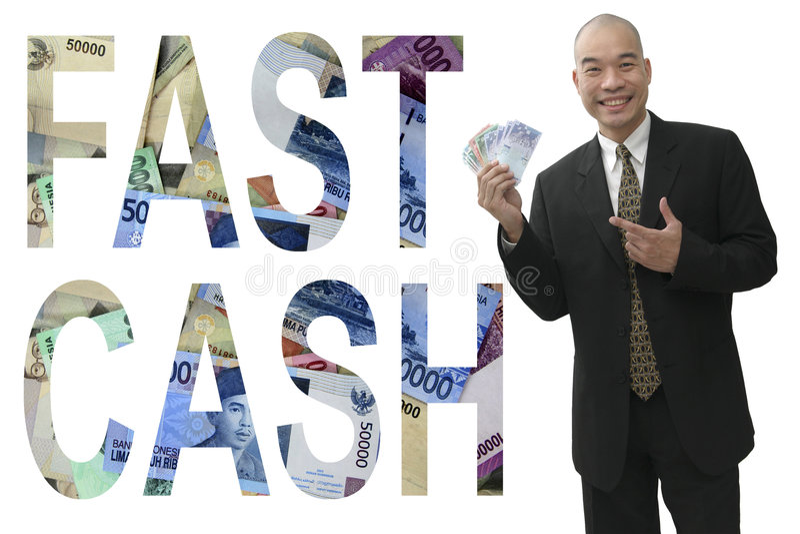 ręka pieniężna zdjęcie royalty free